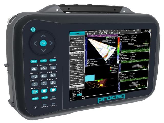 Proceq Ultrasonic Flaw Detector 100